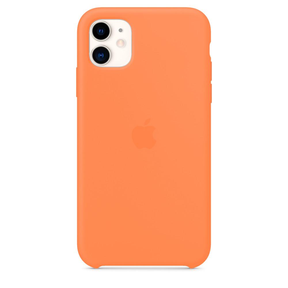 Чехол для iPhone 11 Silicone Case (Papaya) OEM