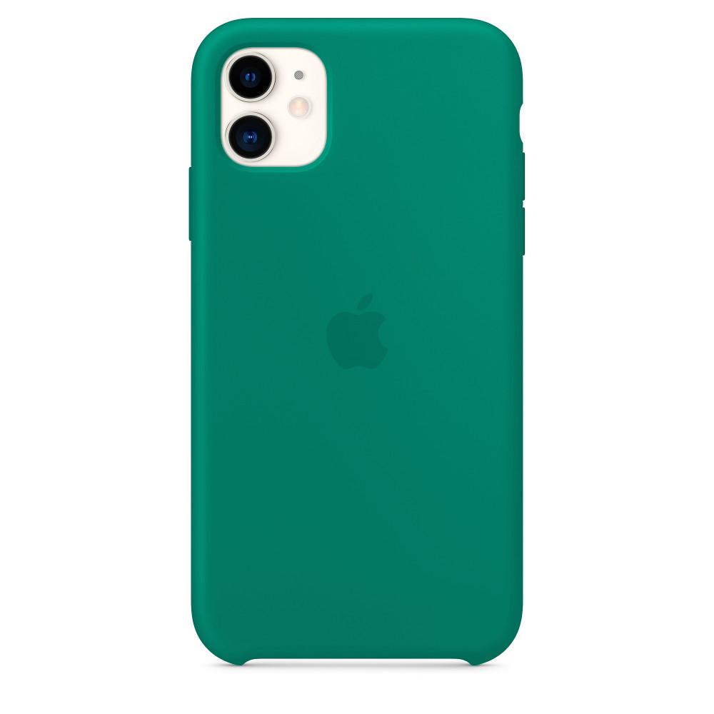 Чехол для iPhone 11 Silicone Case (Pine Green) OEM