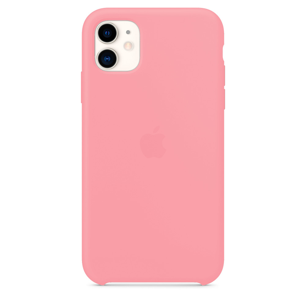 Чехол для iPhone 11 Silicone Case (Pink) OEM