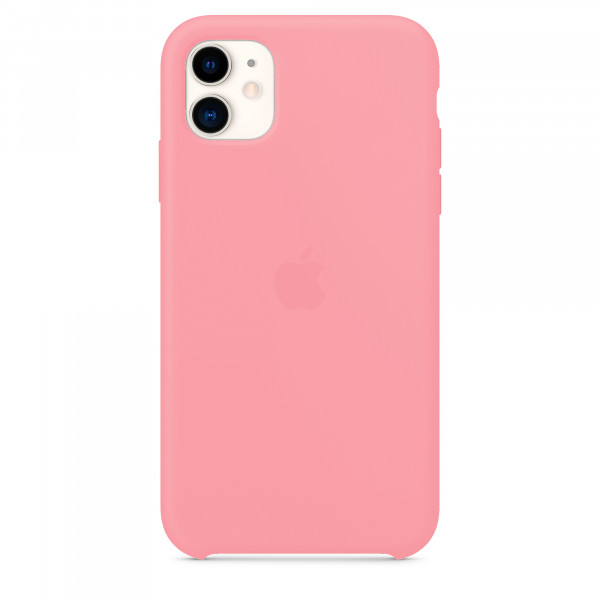 Чехол для iPhone 11 Silicone Case (Pink) OEM