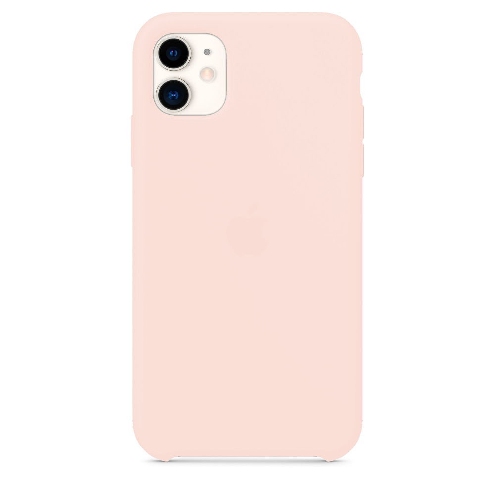 Чехол для iPhone 11 Silicone Case (Pink Sand) OEM