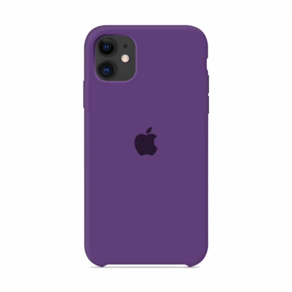 Чехол для iPhone 11 Silicone Case (Purple) OEM
