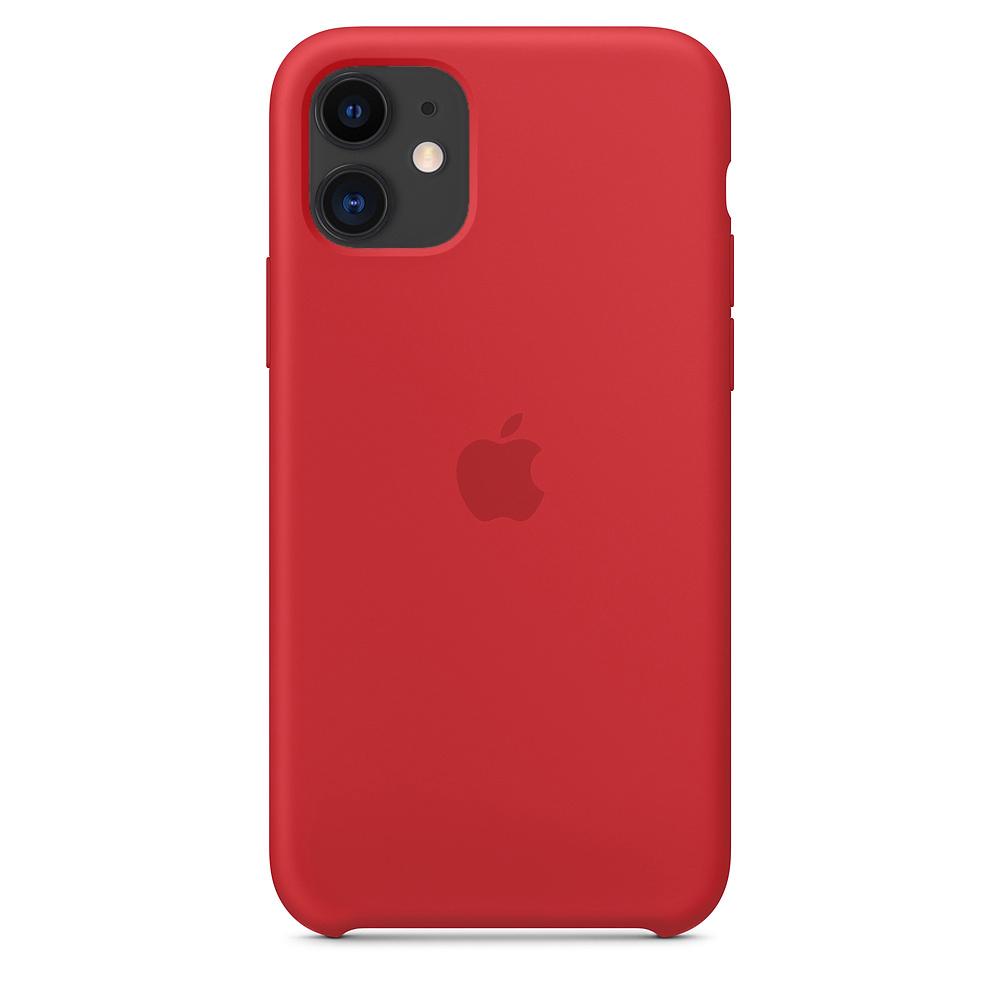 Чехол для iPhone 11 Silicone Case (Red) OEM
