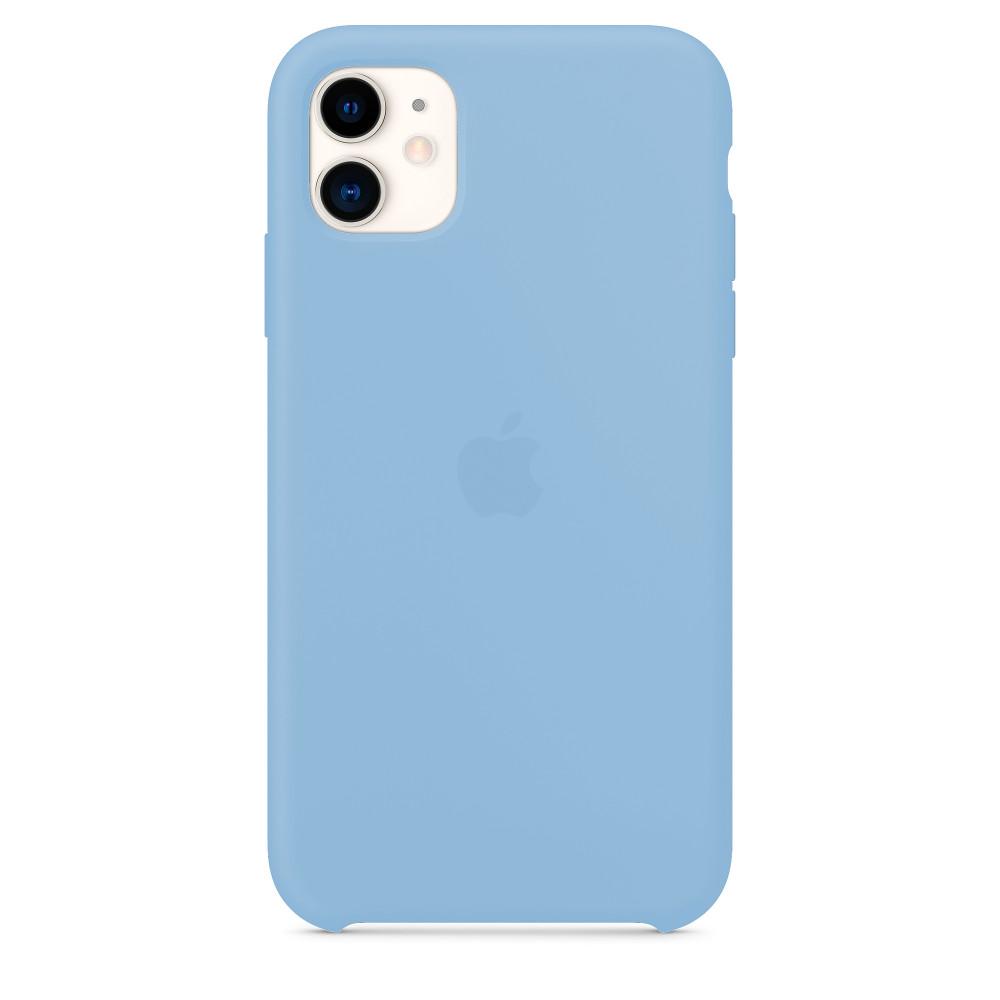 Чехол для iPhone 11 Silicone Case (Sky Blue) OEM