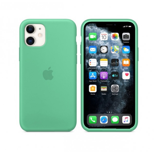 Чехол для iPhone 11 Silicone Case (Spearmint) OEM