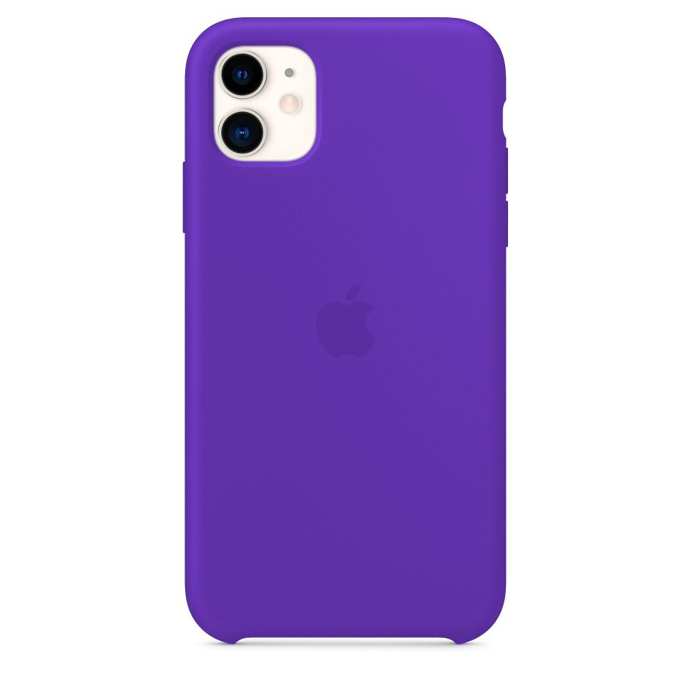 Чехол для iPhone 11 Silicone Case (Ultra Violet) OEM