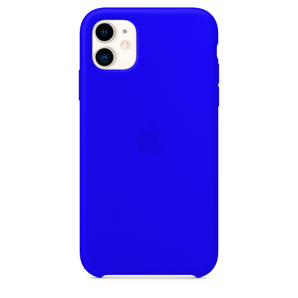 Чехол для iPhone 11 Silicone Case (Ultramarine) OEM