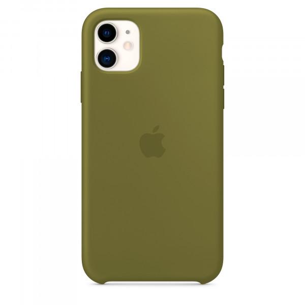 Чехол для iPhone 11 Silicone Case (Virid) OEM