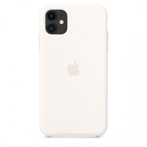 Чехол для iPhone 11 Silicone Case (White) OEM