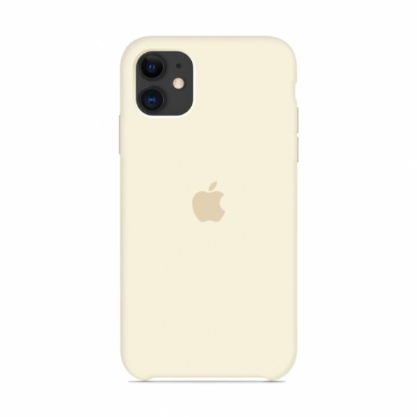 Чехол для iPhone 11 Silicone Case (Antique White) OEM