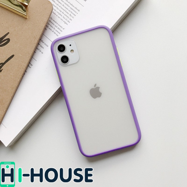 Чехол Gingle Series Case на iPhone 11 (Purple Green)