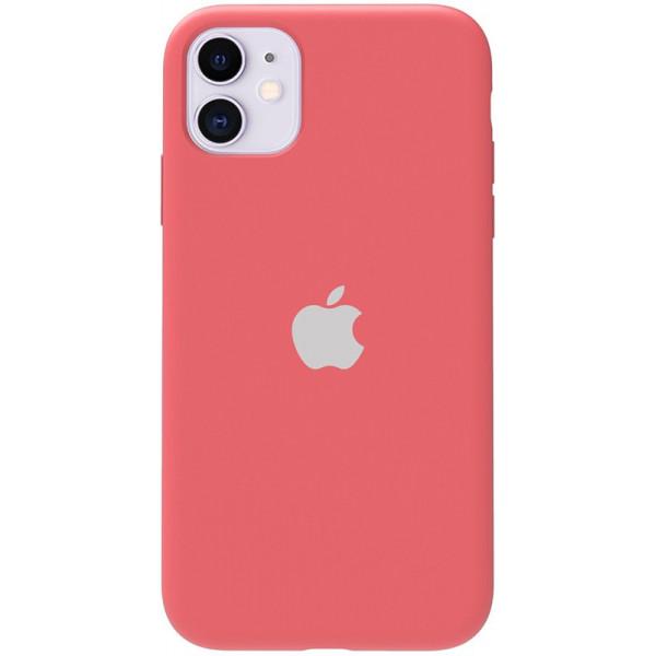 Чехол Silicone Case Full для iPhone 11 (Electric Pink)