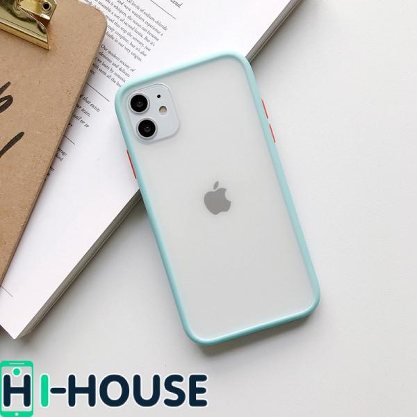 Чехол Gingle Series Case на iPhone 11 (Light Blue Orange)