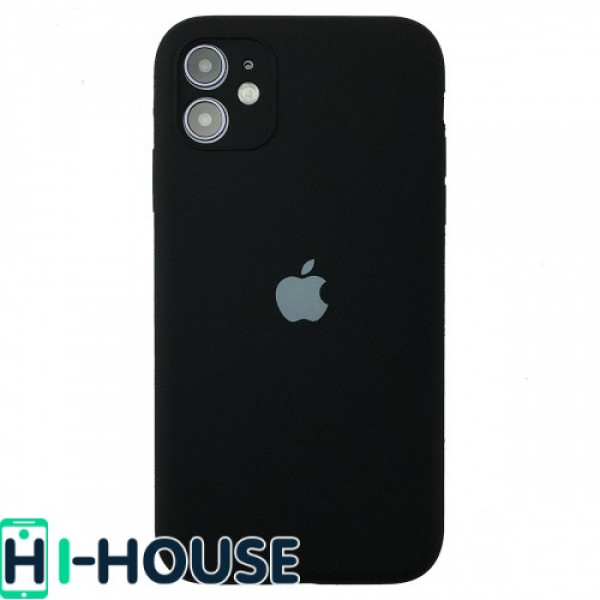 Чехол для iPhone 11 Silicone Case Full Camera Protection (Black)