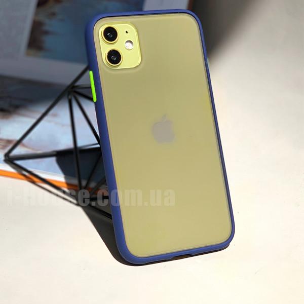 Чехол Gingle Series Case на iPhone 11 (Blue Green)