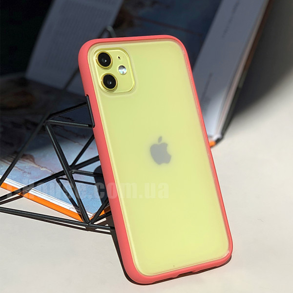 Чехол Gingle Series Case на iPhone 11 (Camellia Red)