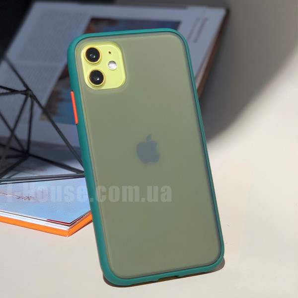 Чехол Gingle Series Case на iPhone 11 (Forest Orange)