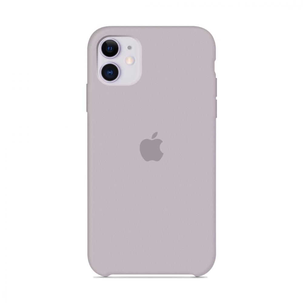 Чехол для iPhone 11 Silicone Case (Lavender) OEM