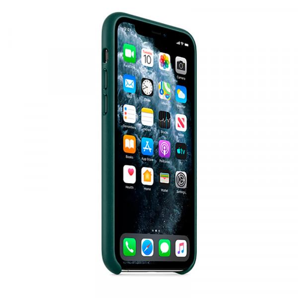 Чехол Good Leather Case для iPhone 11 Pro (Forest Green)