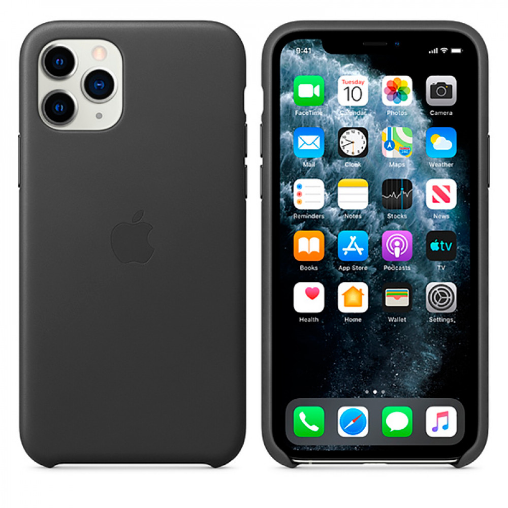 Чехол Good Leather Case для iPhone 11 Pro (Black)