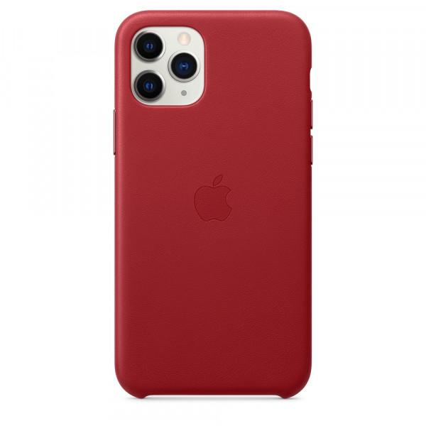 Чехол Good Leather Case для iPhone 11 Pro (Red)