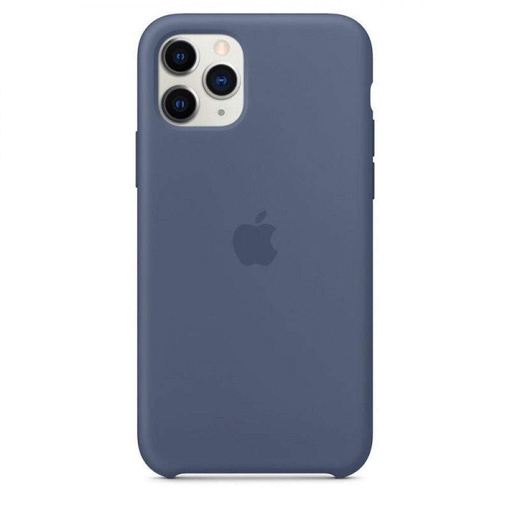 Чехол для iPhone 11 Pro Silicone Case (Alaskan Blue) OEM