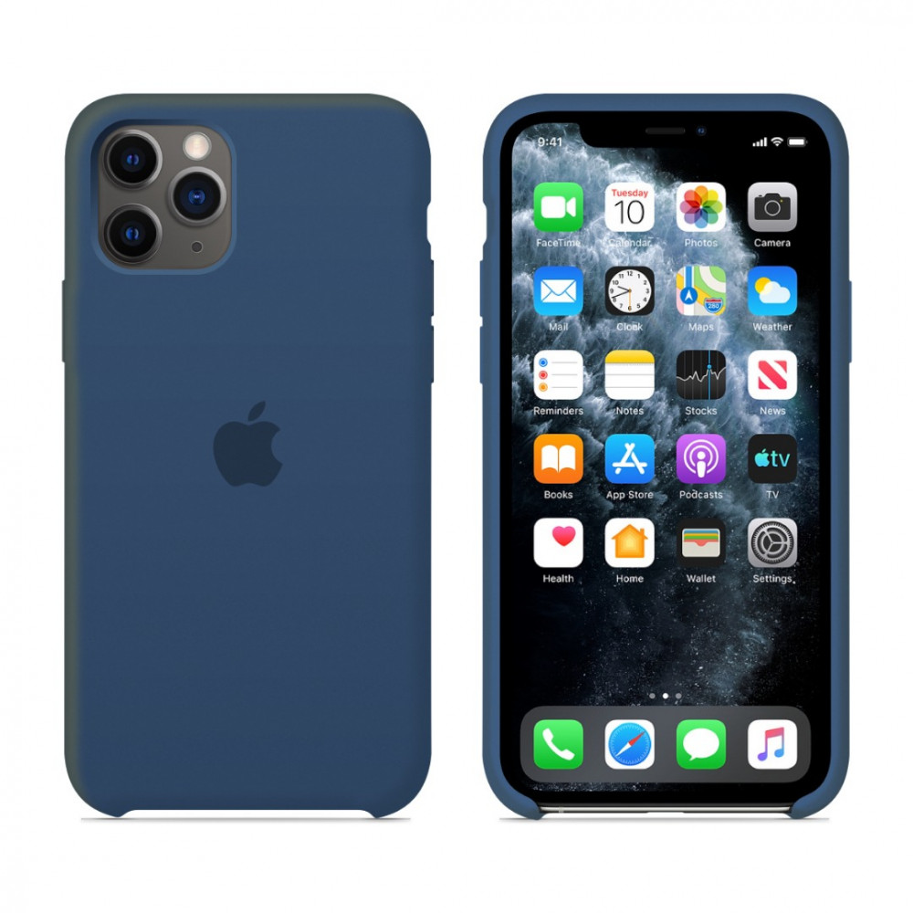 Чехол для iPhone 11 Pro Silicone Case (Blue Cobalt) OEM