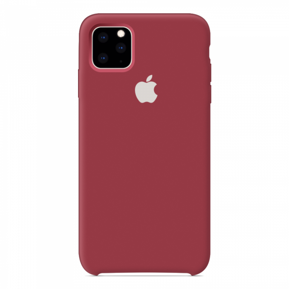 Чехол для iPhone 11 Pro Silicone Case (Camellia White) OEM