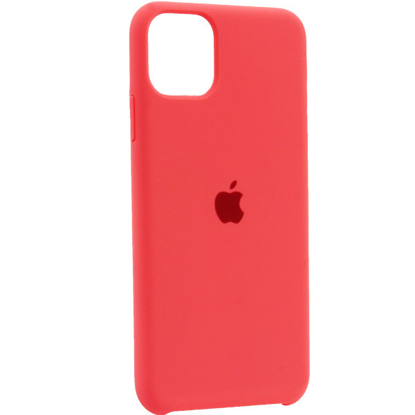 Чехол для iPhone 11 Pro Max Silicone Case (Coral) OEM