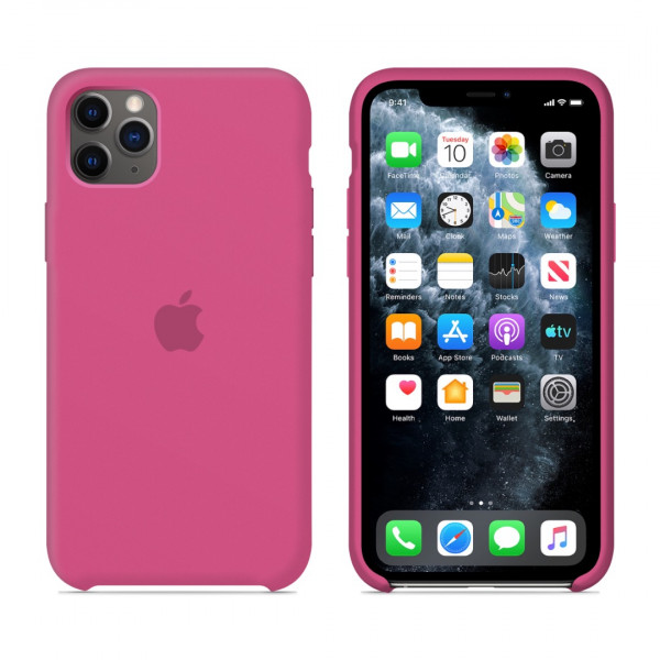 Чехол для iPhone 11 Pro Max Silicone Case (Dragon Fruit) OEM