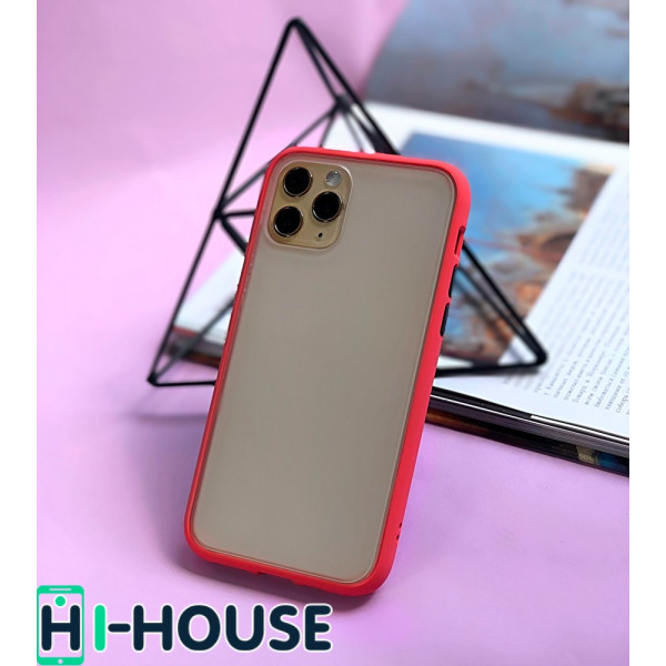 Чехол Gingle Series Case на iPhone 11 Pro (Camellia Red)