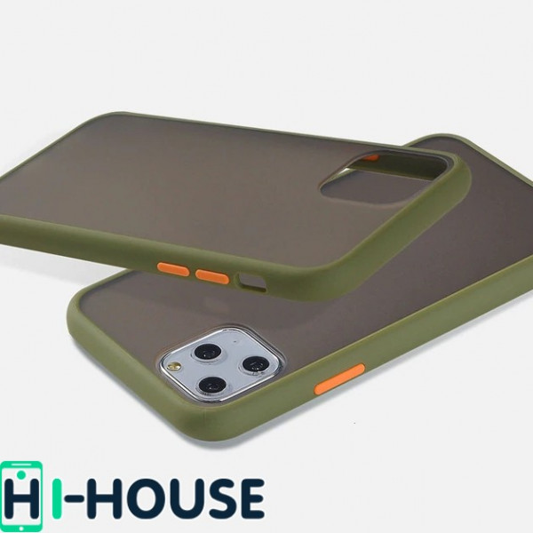 Чехол Gingle Series Case на iPhone 11 Pro (Green Orange)