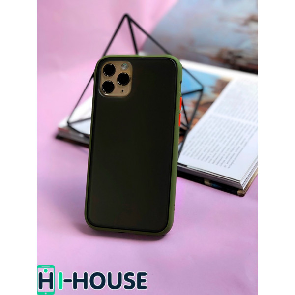 Чехол Gingle Series Case на iPhone 11 Pro (Green Red)