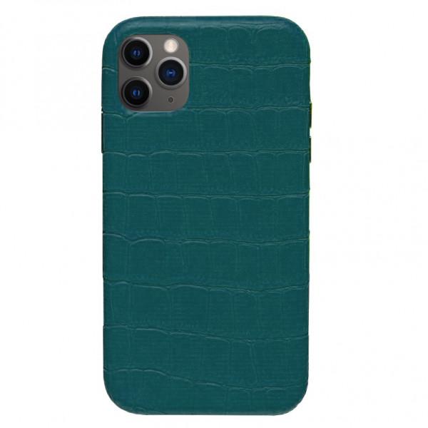 Чехол на iPhone 11 Pro Leather Case Full (Green)