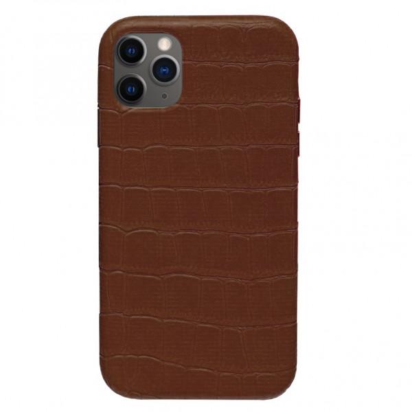 Чехол на iPhone 11 Pro Leather Case Full (Brown)