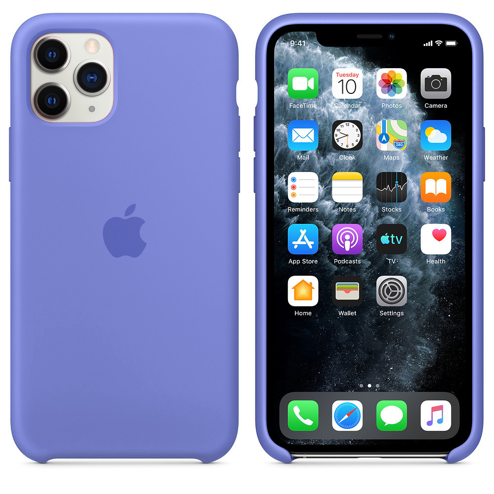Чехол для iPhone 11 Pro Max Silicone Case (Glycine) OEM