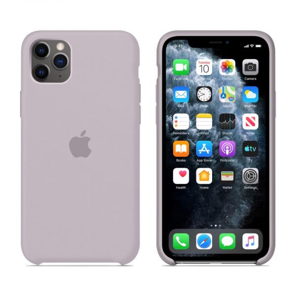 Чехол для iPhone 11 Pro Silicone Case (Lavender) OEM