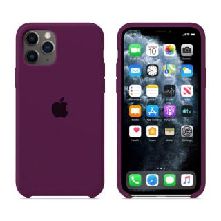 Чехол для iPhone 11 Pro Silicone Case (Marsala) OEM