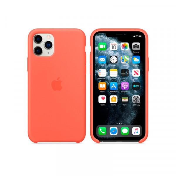 Чехол для iPhone 11 Pro Max Silicone Case (Orange) OEM