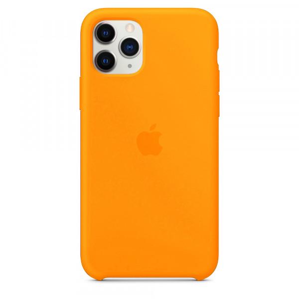Чехол для iPhone 11 Pro Max Silicone Case (Papaya) OEM