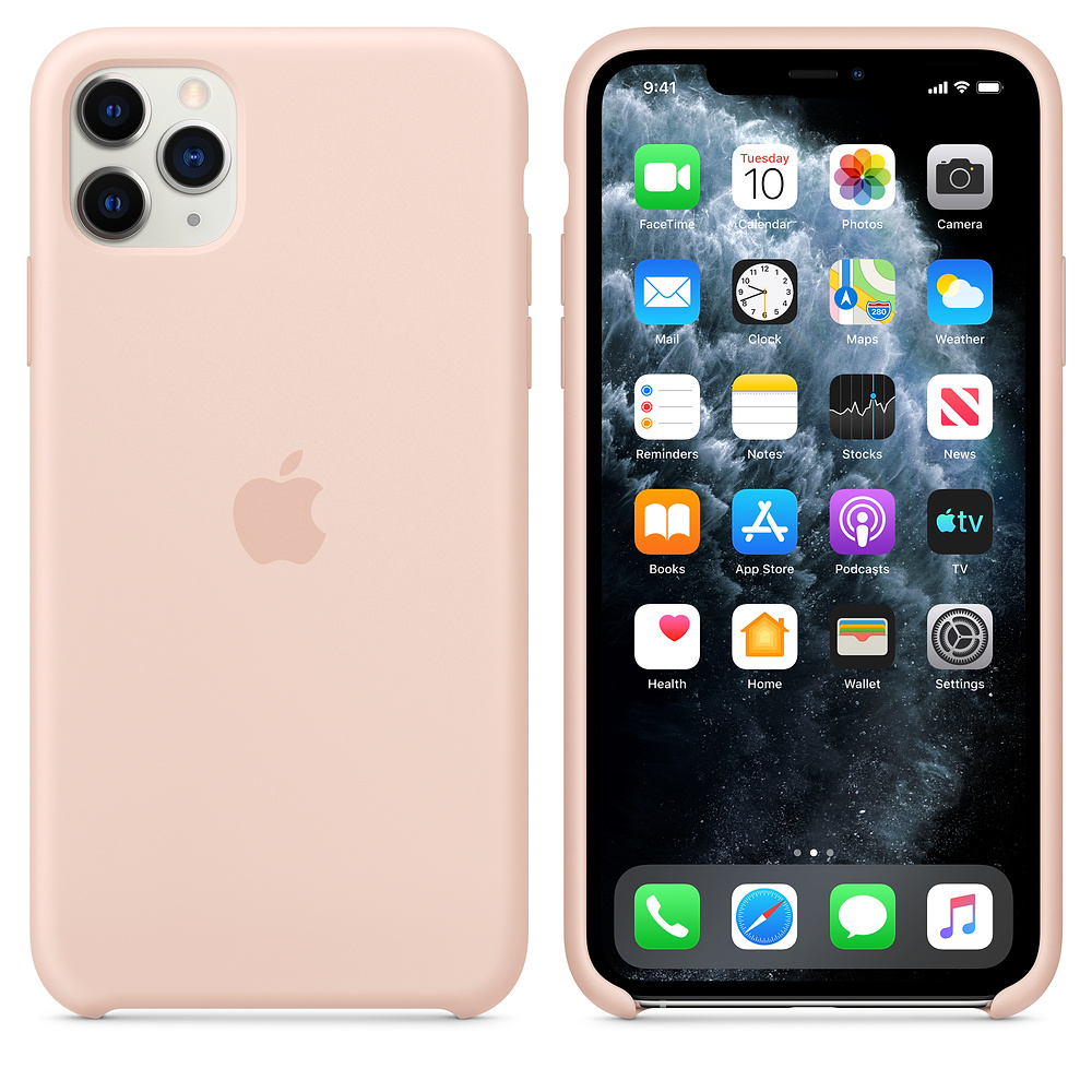 Чехол для iPhone 11 Pro Silicone Case (Pink Sand) OEM