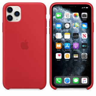 Чехол для iPhone 11 Pro Max Silicone Case (Red) OEM