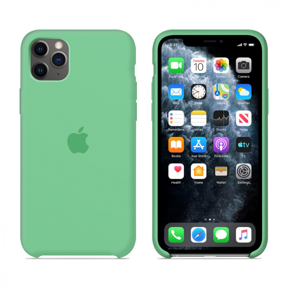 Чехол для iPhone 11 Pro Silicone Case (Spearmint) OEM