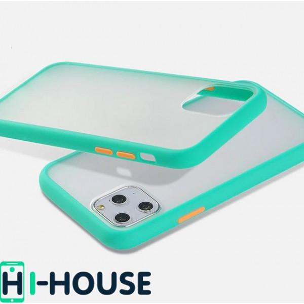 Чехол Gingle Series Case на iPhone 11 Pro Max (Light Blue Orange)