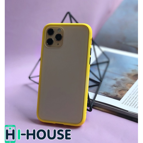 Чехол Gingle Series Case на iPhone 11 Pro Max (Yellow Black)