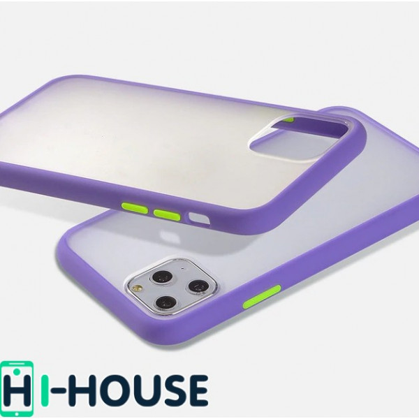 Чехол Gingle Series Case на iPhone 11 Pro Max (Purple Green)