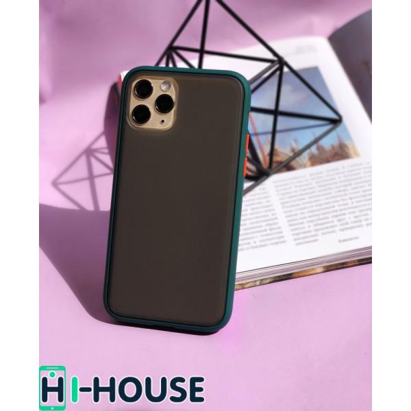 Чехол Gingle Series Case на iPhone 11 Pro Max (Forest Orange)