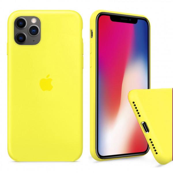 Чехол Silicone Case Full для iPhone 11 Pro Max (Flash)