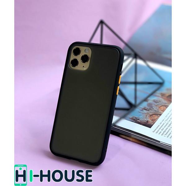 Чехол Gingle Series Case на iPhone 11 Pro Max (Black Orange)
