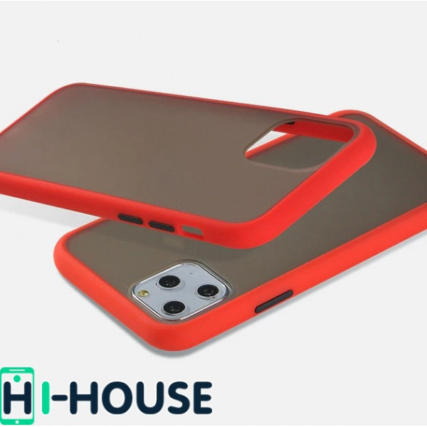 Чехол Gingle Series Case на iPhone 11 Pro Max (Red Black)